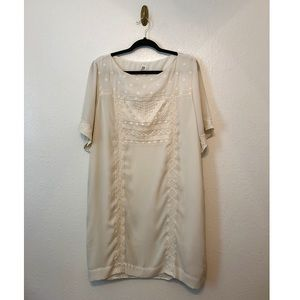 GAP Embroidered Shift Dress
